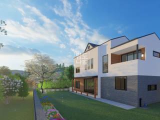 한평의 소중함을 아는 섬세한 디자인, 중목구조 퓨전한옥 by 중목주택 전문브랜드 탐나도가