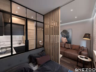 Квартира холостяка от Gnezdo Лофт
