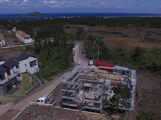 중목주택 전문브랜드 탐나도가 니치하갈바륨: 중목주택 전문브랜드 탐나도가 의 현대 ,모던