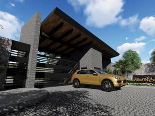 Fraccionamiento Colinas el Centinela: Condominios de estilo  por N+A arquitectos