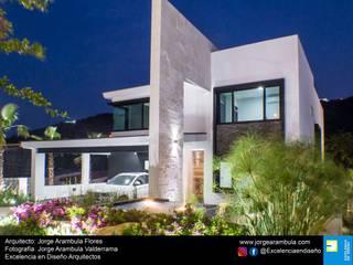 Casas de estilo  por Excelencia en Diseño, Minimalista