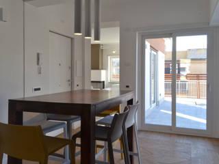 Столовая комната в стиле минимализм от arch. Paolo Pambianchi Минимализм