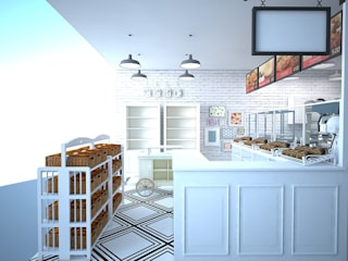 Shabby Chic Bakery in Davao CIANO DESIGN CONCEPTS Commercial Spaces