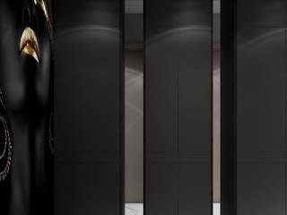 """Квартира в ЖК """"АДМИРАЛ"""" г. Краснодар Коридор, прихожая и лестница в стиле минимализм от BY DANILENKO Минимализм"""