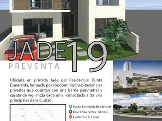 Casa Habitación Jade de G&G arquitectura Moderno
