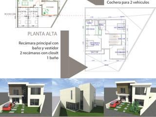 Casa Habitación Jade Dormitorios modernos de G&G arquitectura Moderno