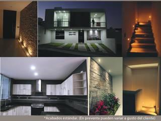 Casa Habitación Jade Paredes y pisos de estilo moderno de G&G arquitectura Moderno