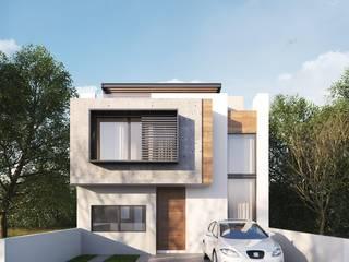 Casa Köju: Casas unifamiliares de estilo  por FFélix Architecture
