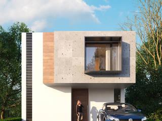 Casa Nõbu: Casas unifamiliares de estilo  por FFélix Architecture