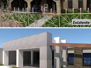 """2018-10-28 - Fachada Principal y Patio """"Juarez"""" de PlanArq"""