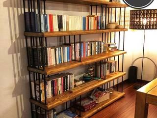 Hasır Ahşap Kitaplık Mozilya Mobilya