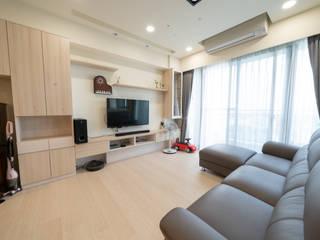 Living room by 藏私系統傢俱, Scandinavian