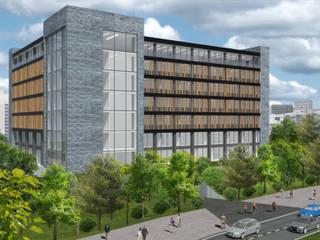 Bürohaus:  Bürogebäude von Patricia Ramiro Architekten BDA