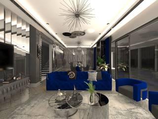 Grey Design – Bademli Villa:  tarz Oturma Odası