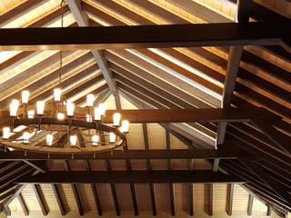 Wiederaufbau denkmalgeschützte Burganlage:  Arbeitszimmer von Meyerfeldt Architektur & Innenarchitektur im Raum Hamburg