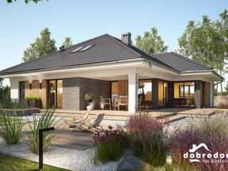 Houses by 'Dobre Domy Flak&Abramowicz' Sp. z o.o. Sp.k.,