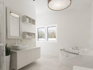 Casas de banho modernas por CENTURY 21 Deutschland Moderno
