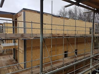 Flimwell Park - Surrey:  Wooden houses by Building With Frames