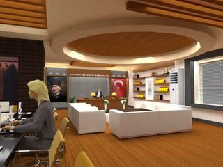 Edremit Belediyesi Makam Odası DETAY MİMARLIK MÜHENDİSLİK İÇ MİMARLIK İNŞAAT TAAH. SAN. ve TİC. LTD. ŞTİ. Akdeniz Oturma Odası