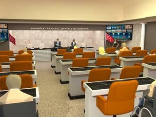 Havran Belediyesi Makam Odası DETAY MİMARLIK MÜHENDİSLİK İÇ MİMARLIK İNŞAAT TAAH. SAN. ve TİC. LTD. ŞTİ. Akdeniz Çalışma Odası