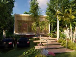 Cabaña Puente Coral de Eva Arceo Interiorismo Tropical