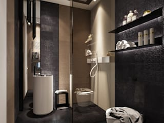 modren bathroom concept Modern bathroom by Square Designs Modern