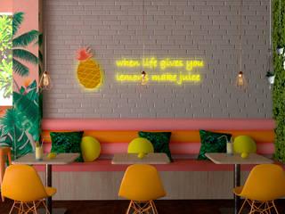 Frutasty:  de estilo tropical por Eva Arceo Interiorismo, Tropical