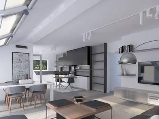 Salas de estar modernas por CENTURY 21 Deutschland Moderno