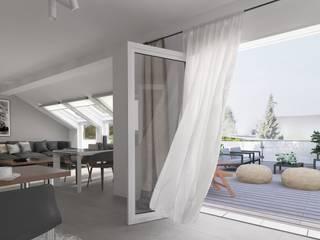 Modern living room by CENTURY 21 Deutschland Modern