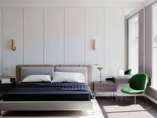 Otel Tasarımları Modern Yatak Odası İçmimar Ümit Akyıldız Modern