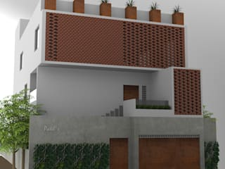 Residence for Mr Patel in Bangalore:  Houses by Studio . abhilashnarayan