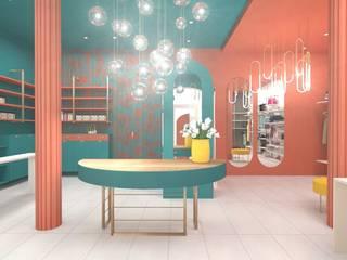 Concept Store Donna: Spazi commerciali in stile  di serenascaioli_progettidinterni