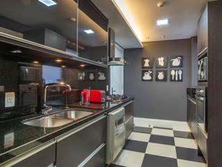 BG arquitetura | Projetos Comerciais Cocinas de estilo moderno