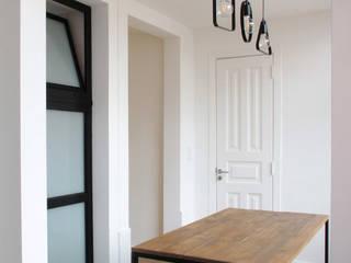 Apartamento no Bairro Azul Salas de jantar modernas por meta.atelier Moderno