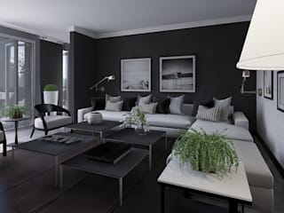Living room by CKW Lifestyle Associates PTY Ltd, Modern