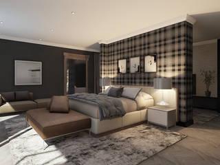 Penthouse Cole Chambre moderne par CKW Lifestyle Associates PTY Ltd Moderne
