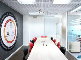 TRUNG TÂM ANH NGỮ SPEAK UP, QUẬN 2 Phòng học/văn phòng phong cách hiện đại bởi Gaea Field Việt Nam Hiện đại