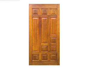 Wooden doors: asian  by Rollinglogs,Asian