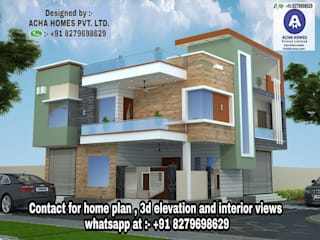 Modern Home Plan by Acha Homes Private Limited