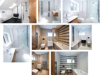 Fallow Park Modern bathroom by Andrew Dixon Photography Modern
