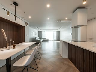Modern style kitchen by 림디자인 Modern