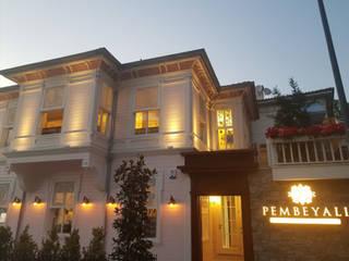 MAHAL MİMARLIK – Pembe Yalı Restaurant:  tarz Yeme & İçme