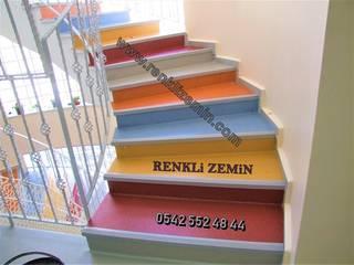 Renkli Zemin Kaplama – Renkli Merdiven Kaplama:  tarz