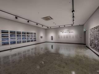 복합문화공간 – 전시실 인더스트리얼 스타일 전시장 by 내츄럴디자인컴퍼니 인더스트리얼