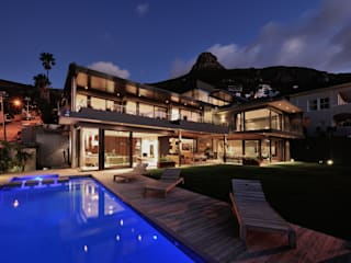 House La Croix Fresnaye Modern houses by KMMA architects Modern
