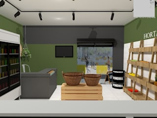 Francielle Calado Arquitetura Office spaces & stores