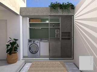 Francielle Calado Arquitetura Balconies, verandas & terraces Accessories & decoration