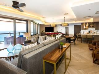 Hotel exclusivo en Cancun:  de estilo  por Punto Cero