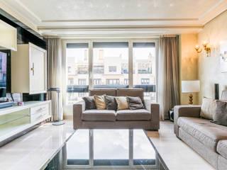 Apartamento en Madrid Carlos Bujan Fotografía Salones de estilo moderno