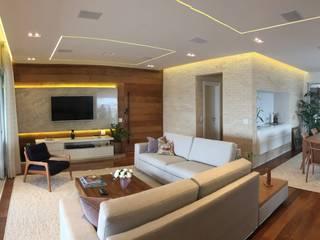 ABBITÁ arquitetura Modern living room